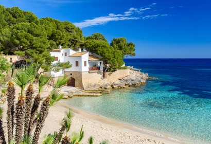 Beach houses in Majorca