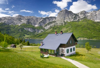 Secluded location in Salzkammergut