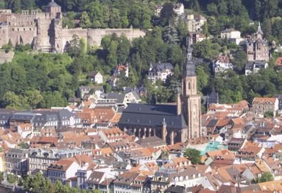 Heidelberg - 4 Unterkünfte