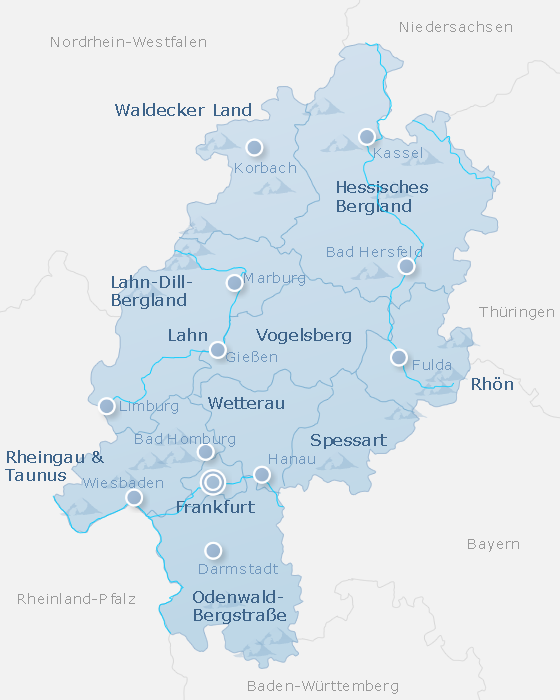Map Hesse