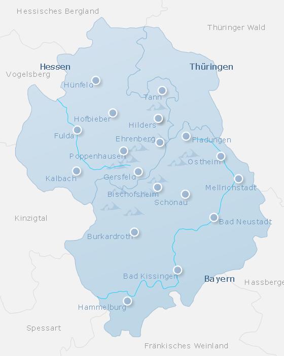 Map Rhon