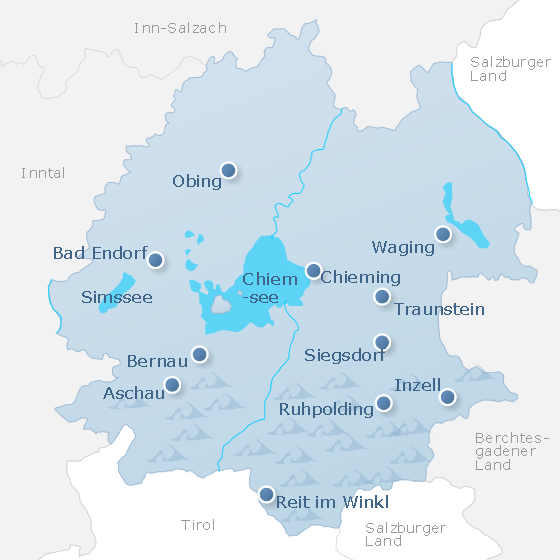 Map Chiemgau