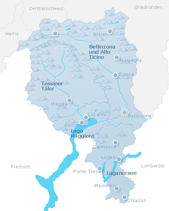 Map Ticino