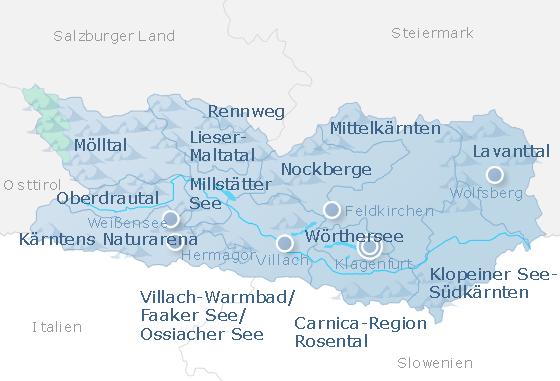 Map Carinthia